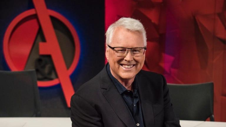 Q&A presenter Tony Jones.