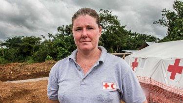 The scale of the emergency is daunting, says Australian Red Cross aid worker Amanda McClelland.