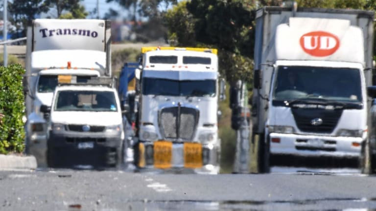 Truck drivers are the cause of an increasing number of crashes.
