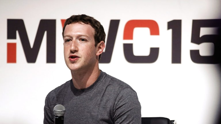 Facebook's Mark Zuckerberg said partnering with telcos would be more useful that putting up balloons.