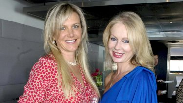 Lizzie Buttrose and Shari-Lea Hitchcock.