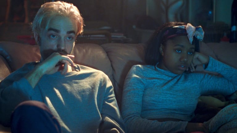 Robert Pattinson as Connie even makes 16-year-old Crystal, played by Taliah Webster, an accomplice in Good Time.