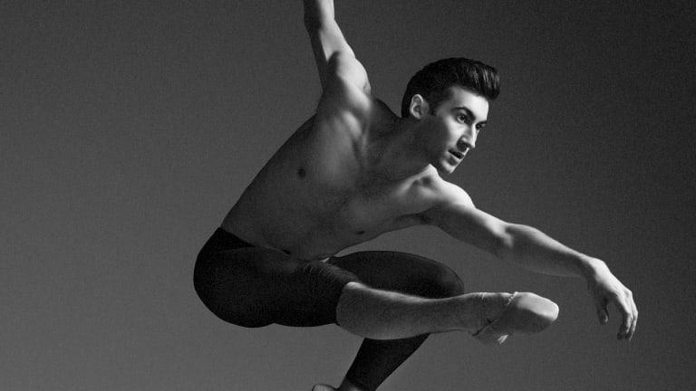 Ballet dancer Brett Chynoweth from the Australian Ballet.