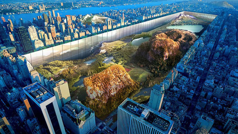 Yitan Sun and Jianshi Wu's design for a radically reimagined Central Park in New York.
