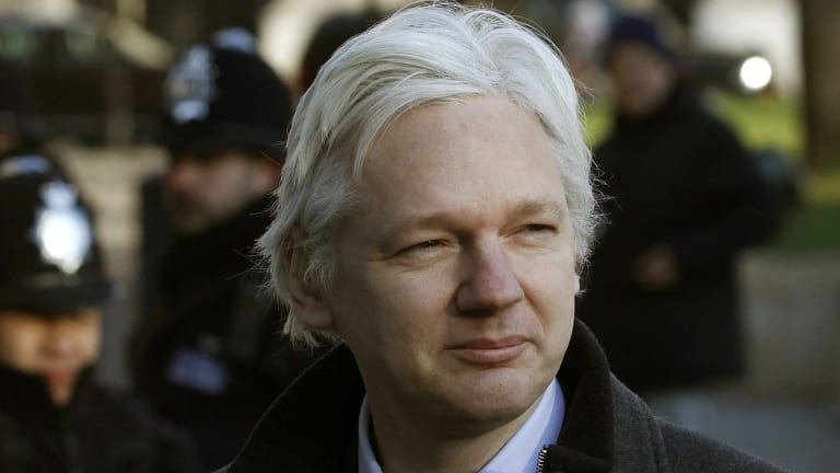 Julian Assange, Wikileaks publisher, described the Victorian Supreme Court suppression order as 'unprecedented'.