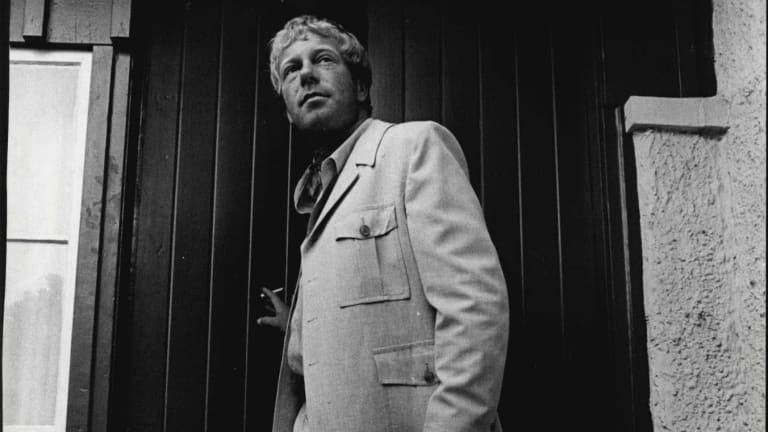 The safari suit was a fashion must for any well-dressed man in the summer of 1971.
