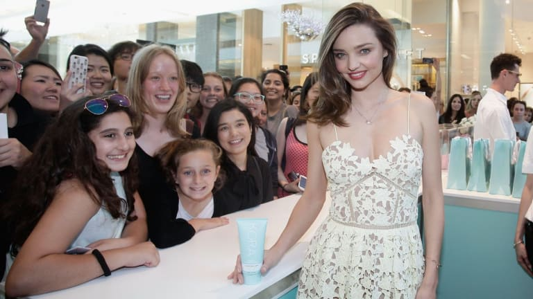 Diversifying is key: Model Miranda Kerr has a range of business interests, including a skincare range.