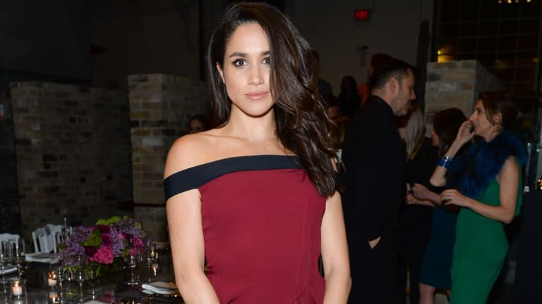Meghan Markle at a dinner in Toronto in April 2016, months before her relationship with Prince Harry went public.