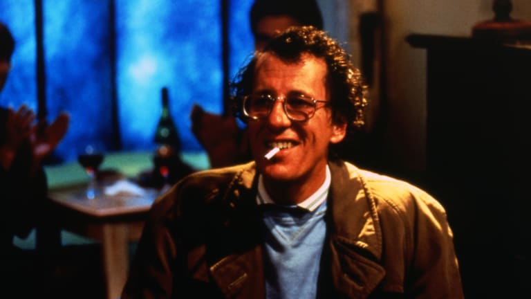 Geoffrey Rush in a scene from Shine