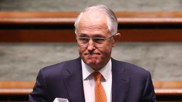 Malcolm Turnbull seemed to be promising meaningful tax reform, but now seems to have chickened out.