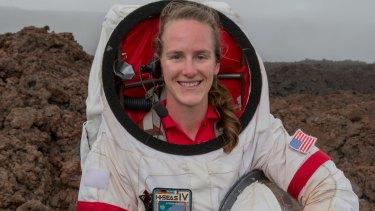 NASA scientist Carmel Johnston spent a year living in a Mars biosphere.