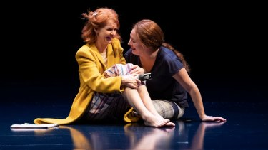 Jacqueline McKenzie and Many McElhinney in Mosquitoes at the STC.