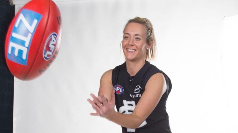 AFL star Lauren Arnell has always been sports mad.