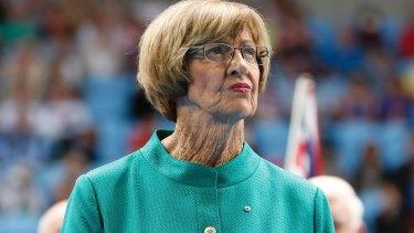 Margaret Court, a devout Christian, was given the pariah treatment.