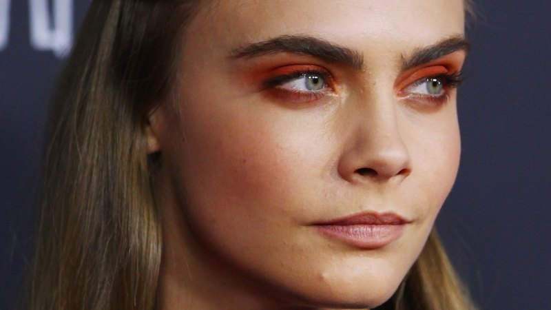 It S Ok To Be A Tiny Bit Afraid Of Cara Delevingne Eyebrows But