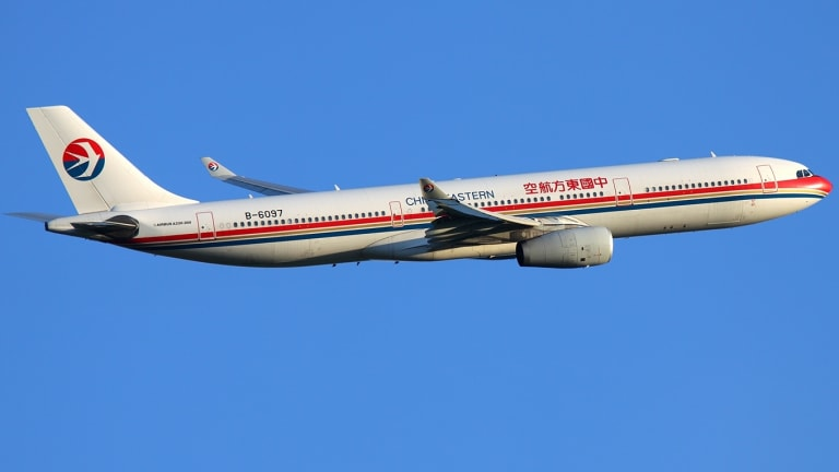 China Eastern will fly the Airbus A330 into Brisbane when it starts daily flights in December.