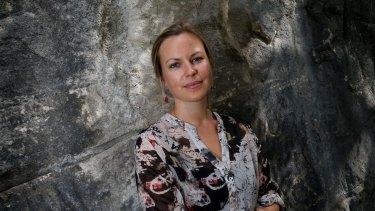 Author Ceridwen Dovey.
