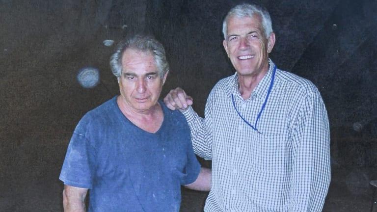 Steve Tsoukalas with architect Jan Utzon, son of Jorn Utzon.
