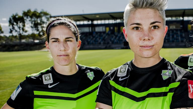 Michell Heyman and Caitlin Munoz are expected to be named co-captains this season.