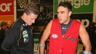 Damien Hardwick talks to Shane Edwards.