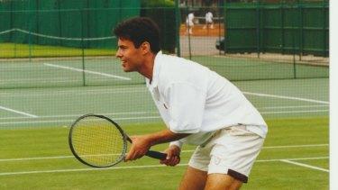 As an aspiring tennis professional.