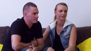Brad and Tallena in the final therapy session of Seven Year Switch.