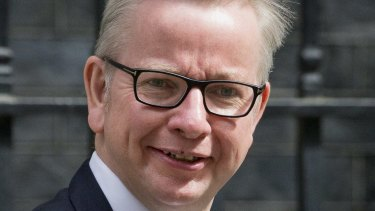 Michael Gove has clashed with Theresa May before.