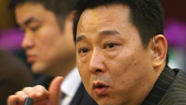 Liu Han, former chairman of Hanlong Mining, who has been executed over gang links.
