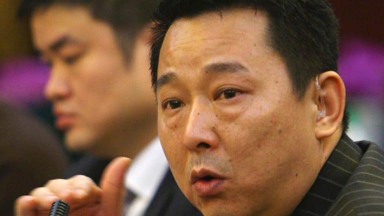 Liu Han, former chairman of Hanlong Mining, who has been executed over gang links.