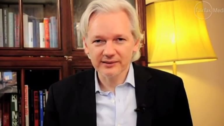 Julian Assange has been in the Ecuadorean embassy in London for more than three years.