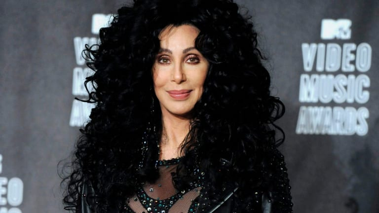 Cher at the MTV Video Music Awards in Los Angeles in 2010.
