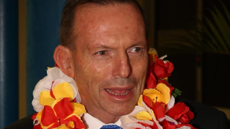 Party boy Tony Abbott.