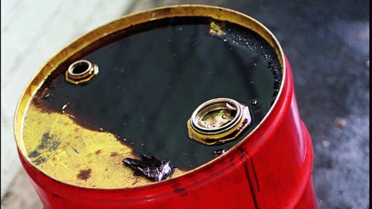 The US Energy Information Administration said crude stockpiles fell by 1.4 million barrels last week.