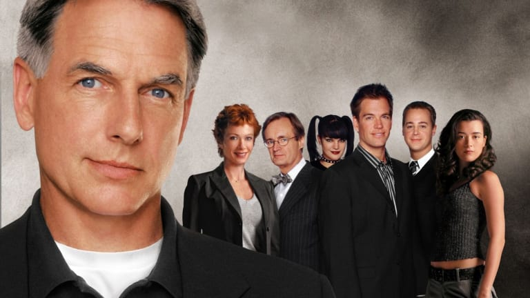 The <i>NCIS</i> cast, circa 2007, the year Shane Brennan became showrunner on the most successful program on US television.