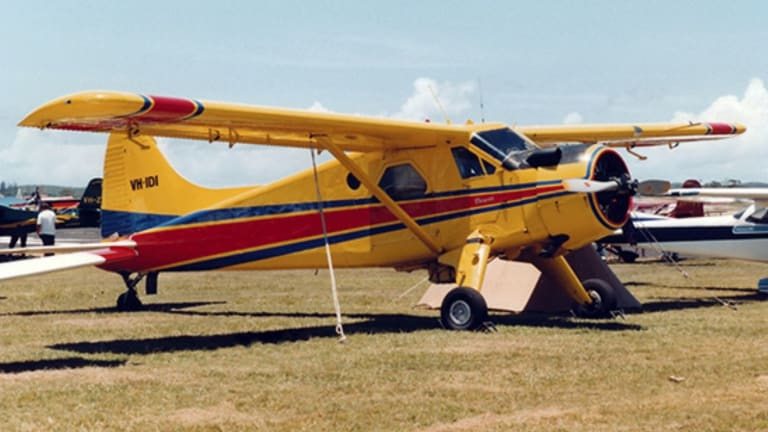 The seaplane that crashed on December 31, 2017 at Jerusalem Bay had previously been used as a crop duster.