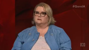 """""""Right now she is finding and firing with her most potent voice"""": Magda Szubanski on Q&A."""