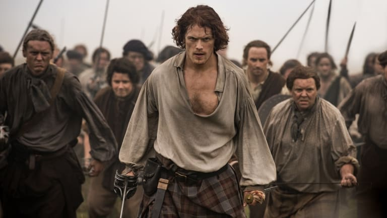 The third season of time-travelling melodrama Outlander is on SBS.