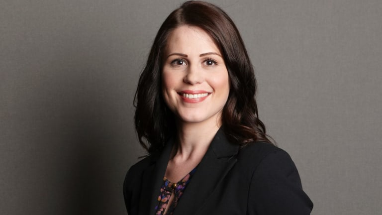 Maurice Blackburn Lawyers senior associate Emma Starkey says women are often told they have to change if they want to achieve equality in the workplace.