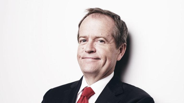 Zinger king: Labor leader Bill Shorten.