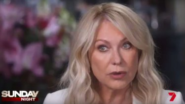 Kerri-Anne Kennerley has opened up on her past as a victim of domestic violence.