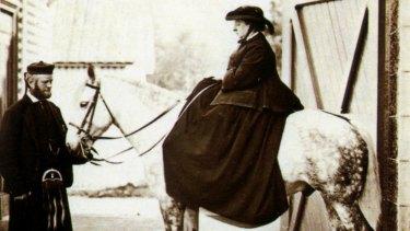 Queen Victoria and John Brown.