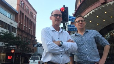 Rod Bligh and LNP candidate Jamie Forster say urgent safety improvements are needed.