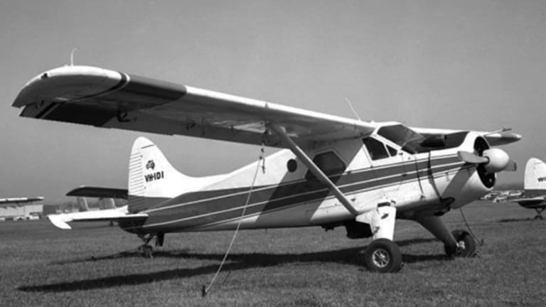 The DHC-2 Beaver, pictured here under its previous registration VH-IDI, was built in 1963.