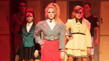 The Heathers and their quarterback squeezes help keep the musical punchy and invigorating.