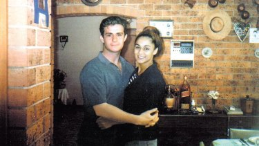 The actual Joe Cinque and Anu Singh in a photo before the 1997 killing.