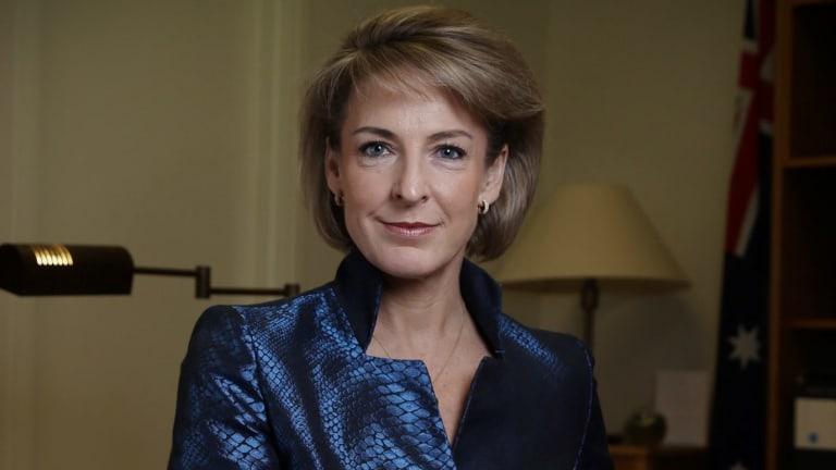 Employment Minister Michaelia Cash.
