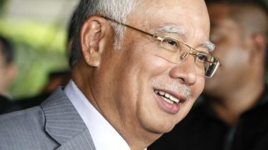Malaysian Prime Minister Najib Razak is not among those targeted in a Swiss investigation.