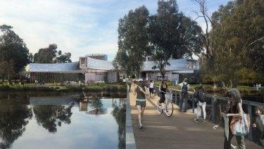 Kerstin Thompson Architects' SAM proposal.