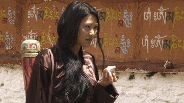Tshering Zangmo in <i>Arrows of the Thunder Dragon</i>.