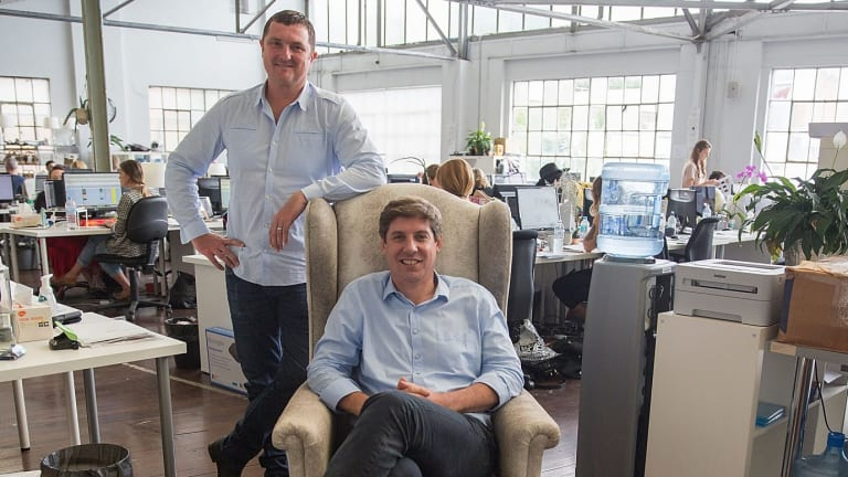 Temple & Webster founders Brian Shanahan and Adam McWhinney are set to take the four year old online furniture and homewares retailer public.